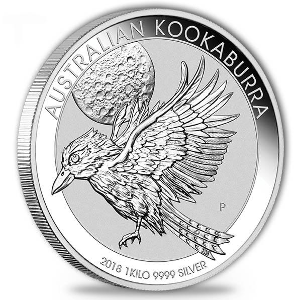 Kookaburra 2018 1 KG Silber*