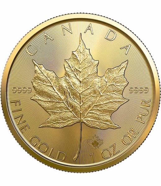 Maple Leaf  1 Unze Goldmünze