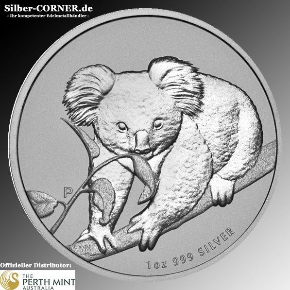 1 Oz Koala 2010 Silber