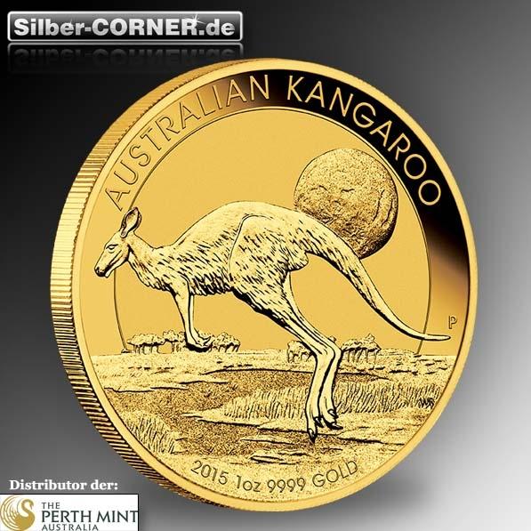 Känguru 1 Oz Gold 2015