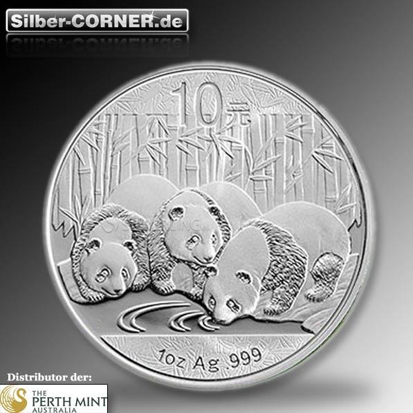China Panda Silber 2013*
