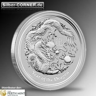 Lunar Drache 10 KG Silber