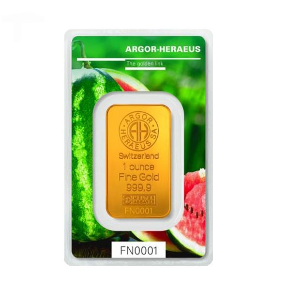 Following Nature - Sommer - 1 Oz Gold 2018