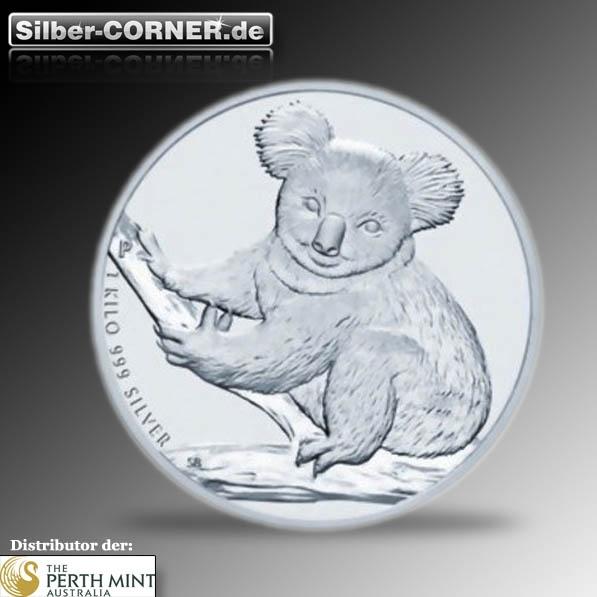 Koala 1 Kg Silber Prägejahr 2009