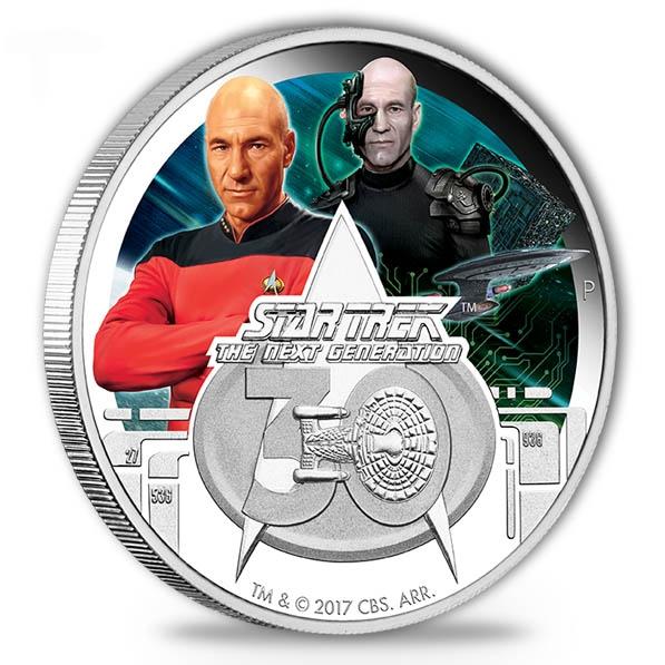 Star Trek 30th Anniversary The Next Generation 2017 *