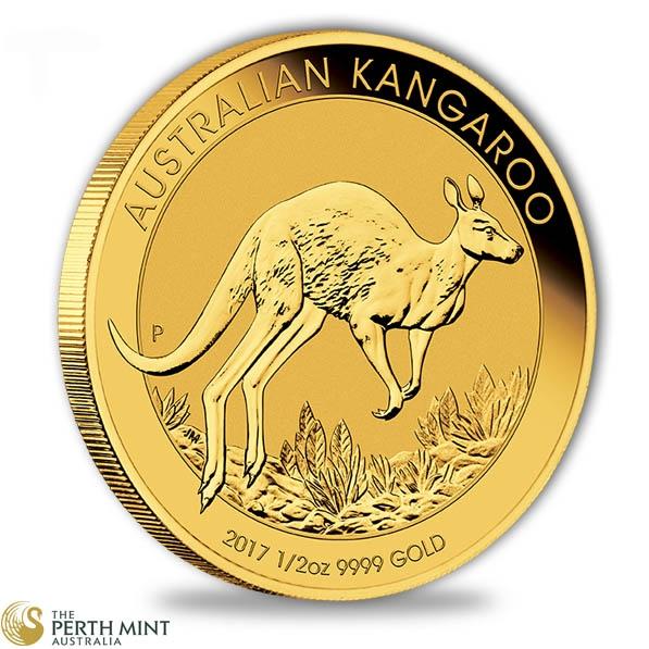 Känguru 1/2 Oz Gold 2017