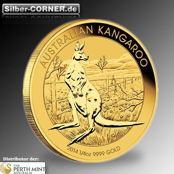 Känguru 1/4 Oz Gold 2014