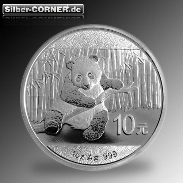 China Panda Silber 1 Oz 2014 *