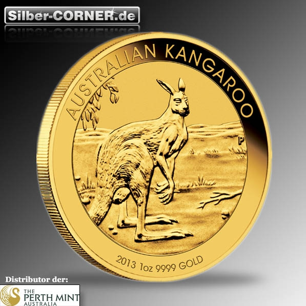Känguru 1/4 Oz Gold 2013