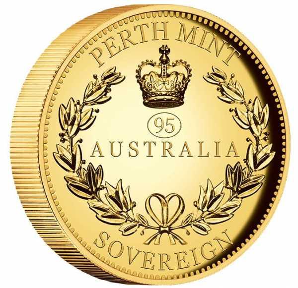 Australien Sovereign High Relief Proof 2021 Piedfort +Box +COA