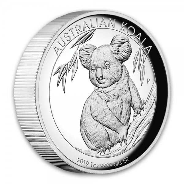 1 Oz Silber High Relief Koala 2019*