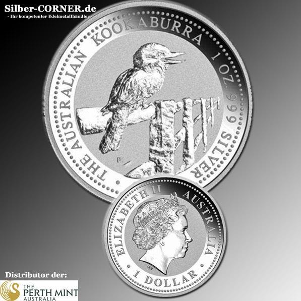 1998 Silber Kookaburra 1 Oz