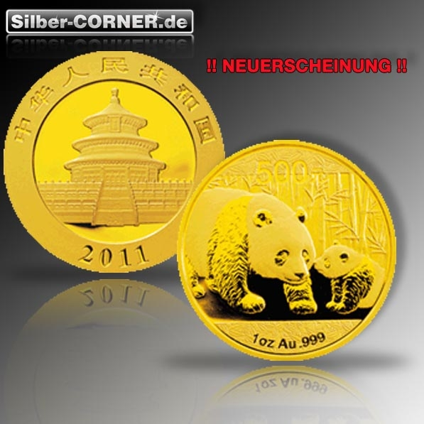 China Panda 2010 1 Oz Gold