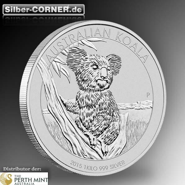 Koala 2015 1 KG Silber *