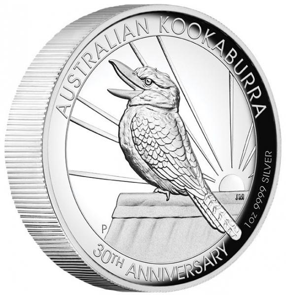 Kookaburra 1 Oz Silber High Relief 2020 + Box +COA*