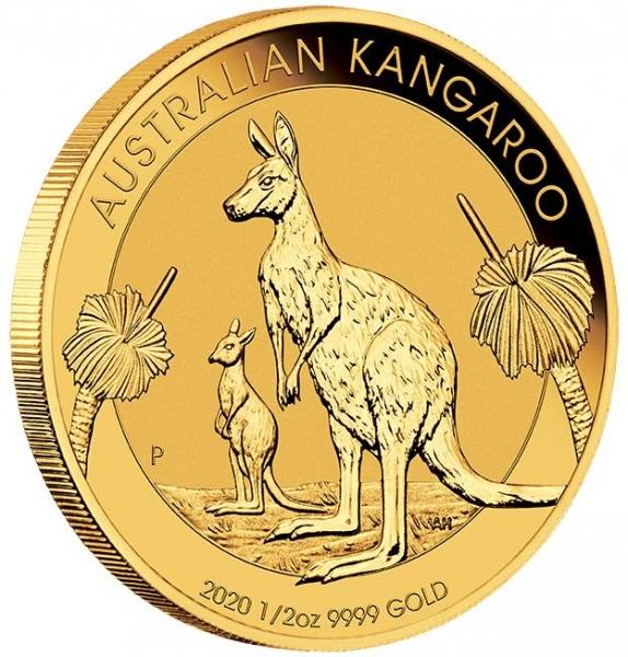 Känguru 1/2 Oz Gold 2020