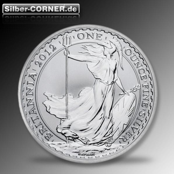 Britannia 2012 1 Oz Silber*