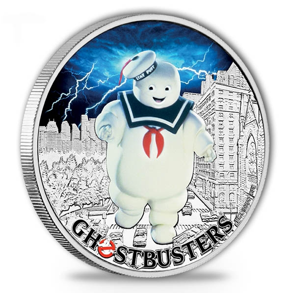 Ghostbusters - Marshmallow Man - 1 Oz Silber *