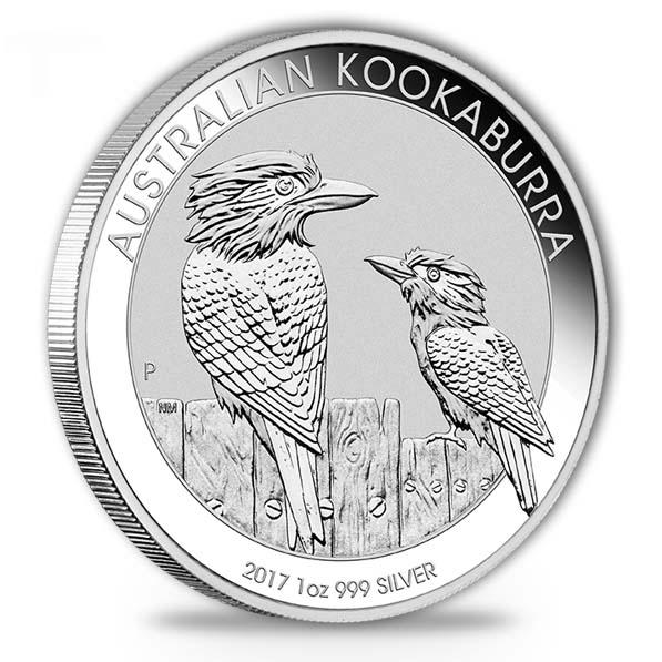 Kookaburra 2017 1 Oz Silber *