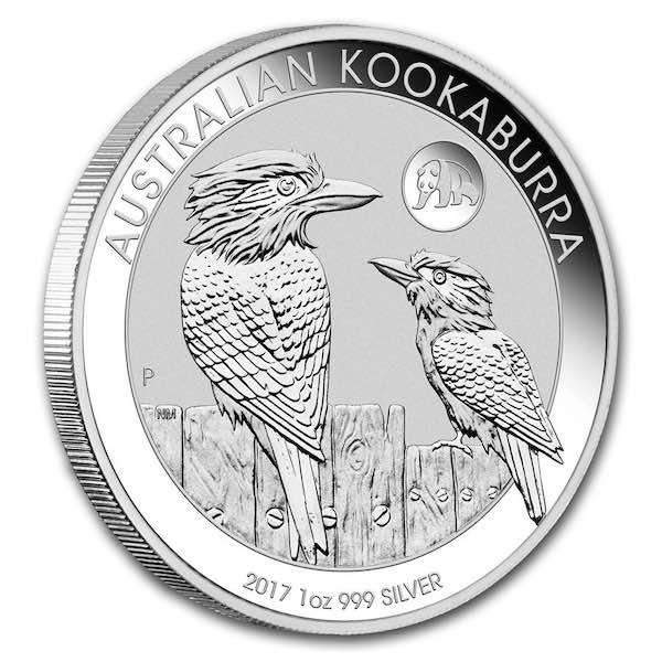 Kookaburra - Privy Mark Panda - 1 Unze Silber 2017*