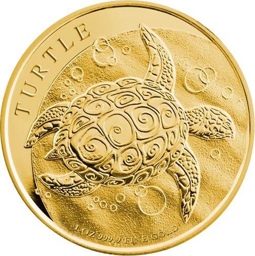 Niue Turlte 1 Oz Gold 2016