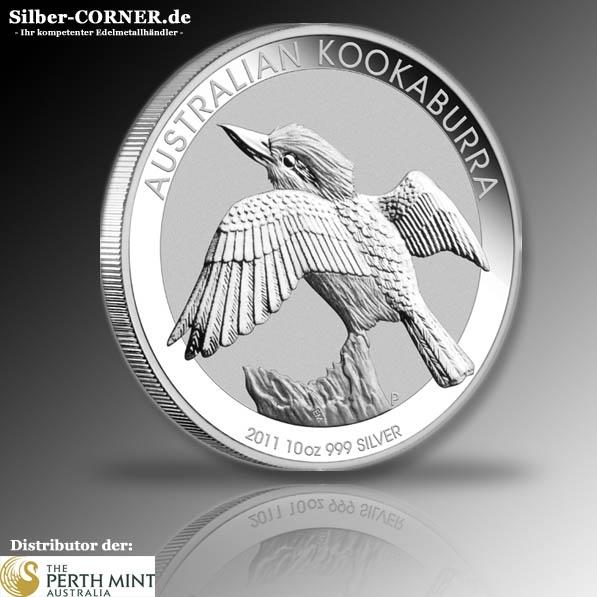Kookaburra 2011 10 Oz Silber *