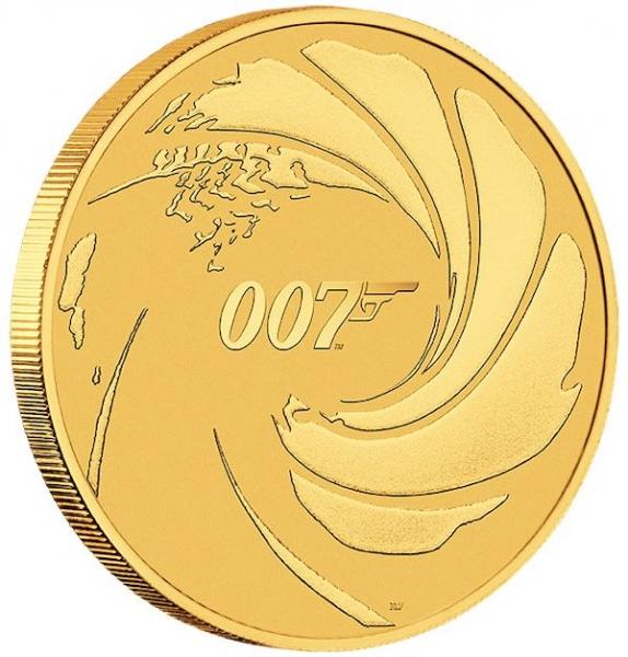 James Bond Goldmünze 1 unze 2020