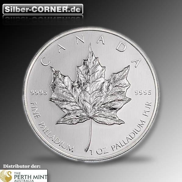Palladium 1 Oz Maple Leaf