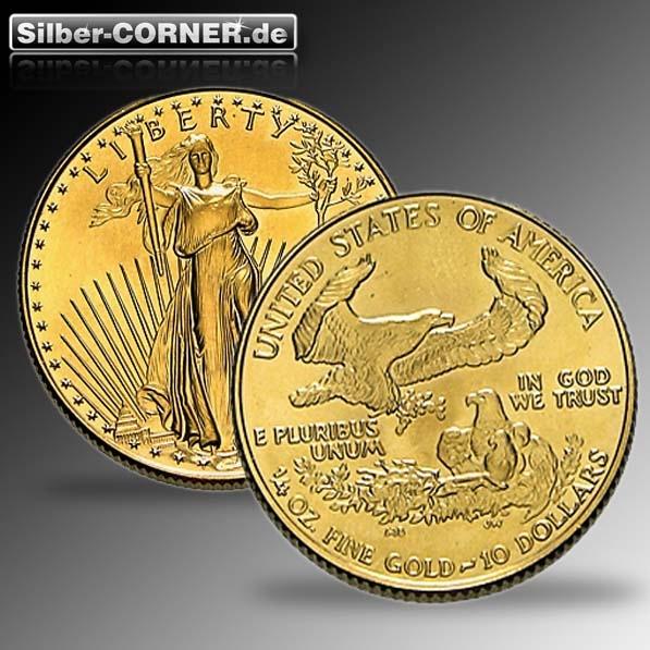 American Eagle 1/4 Oz Gold (div. Jg.)