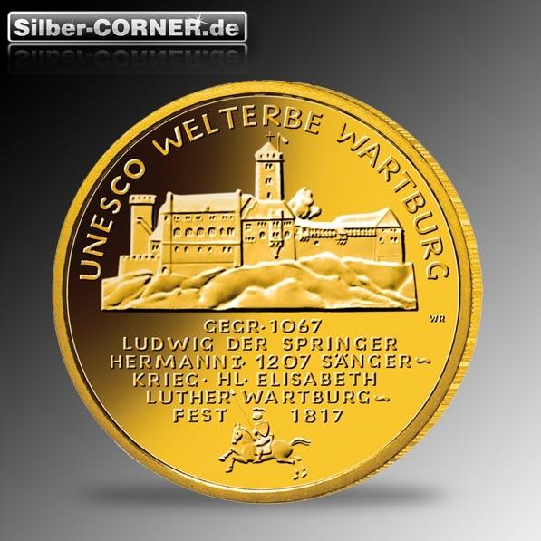 100 Euro Wartburg 2011 1/2 Oz Gold