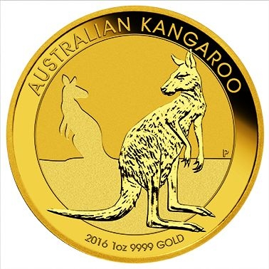 Känguru 1 Oz Gold 2016