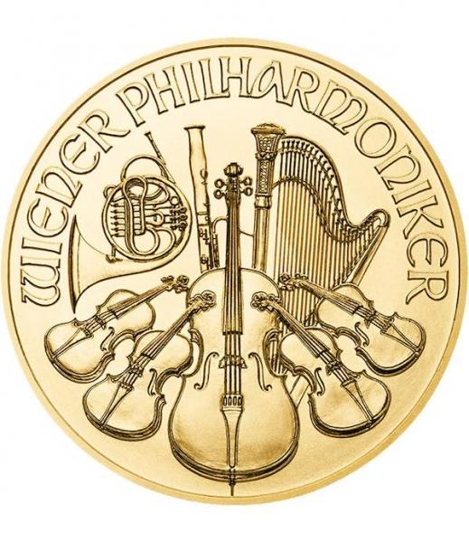 Wiener Philharmoniker 1 Oz Gold div Jahrgänge