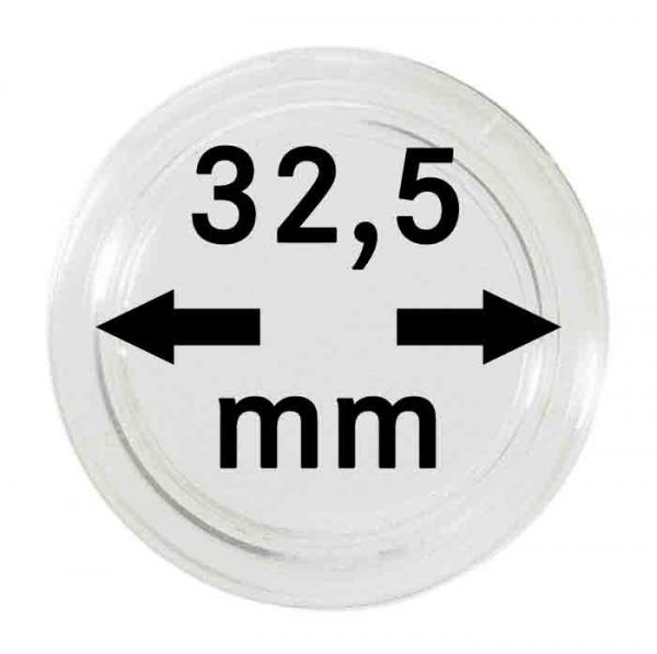 Münzkapsel 32,5mm