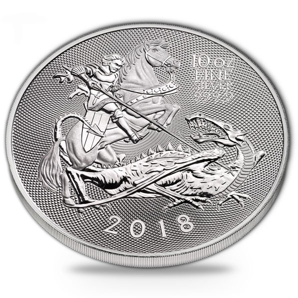 Royal Mint - Silver Valiant - 10 Oz Silber 2018 *