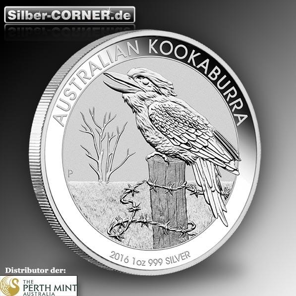 Kookaburra 2016 1 Oz Silber *