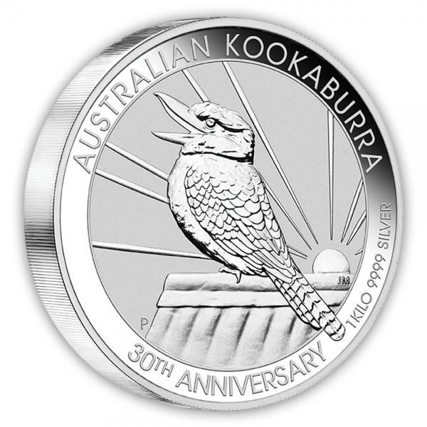 1 Kg Silber Kookaburra 2020 *