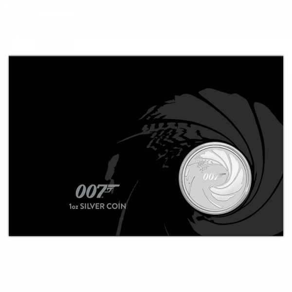 1 Oz Silber James Bond im Blister 2020*