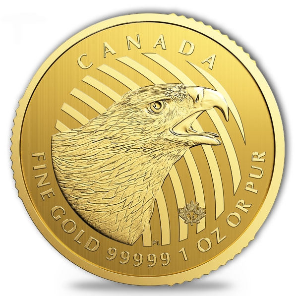 Call of the Wild - Golden Eagle - 1 Oz Gold - Blister