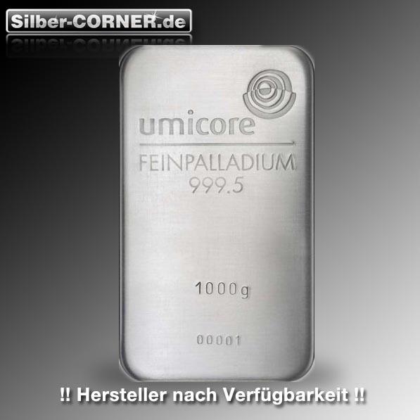 1 Kg Palladium Barren