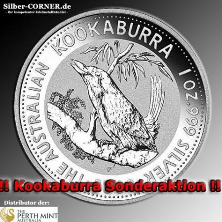 1992 Silber Kookaburra 1 Oz