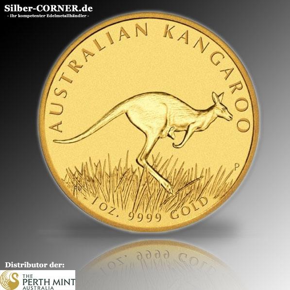 1oz Gold Känguru 2008
