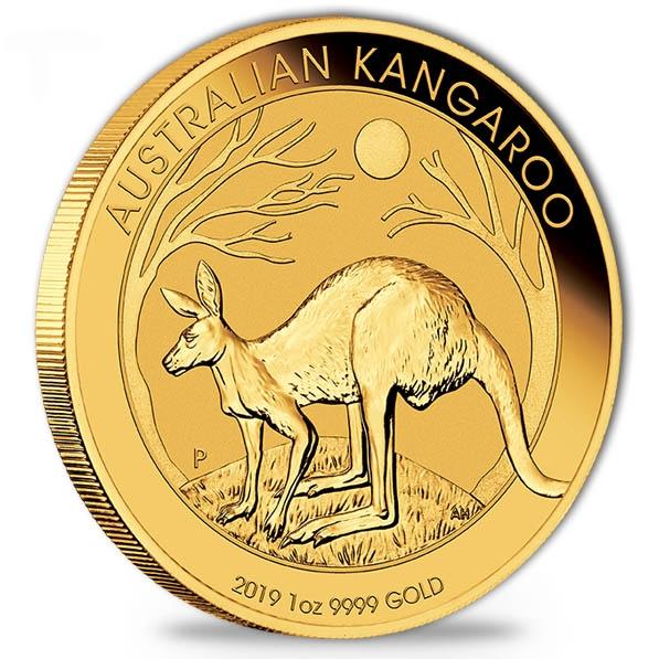 Australien Känguru 1 Oz Gold 2019
