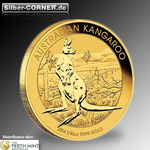 Känguru 1/10 Oz Gold 2014