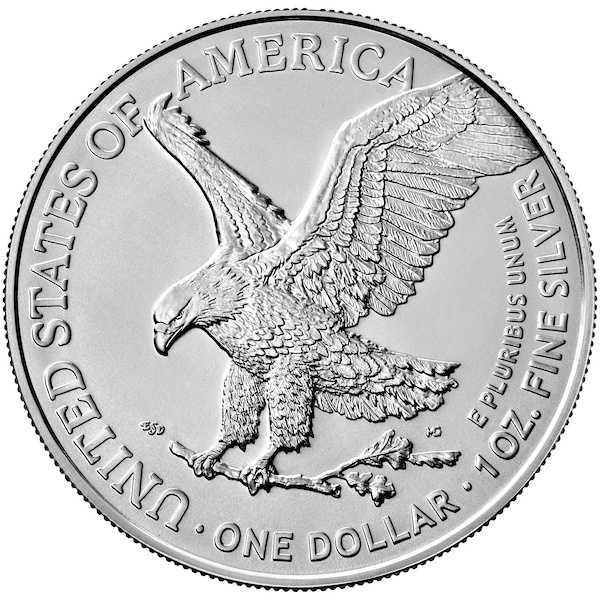 American Eagle 1 Oz Silber 2021 (Typ 2) *