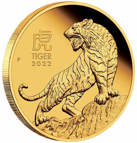 Lunar Tiger 1 Oz Gold Proof 2020