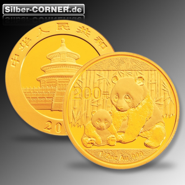 China Panda 2012 1/2 Oz Gold