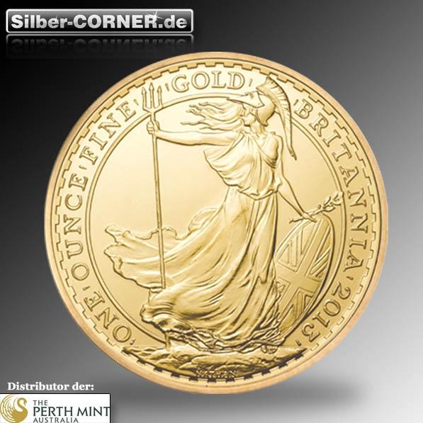 1/10 Oz Gold Britannia div. Jahrgänge