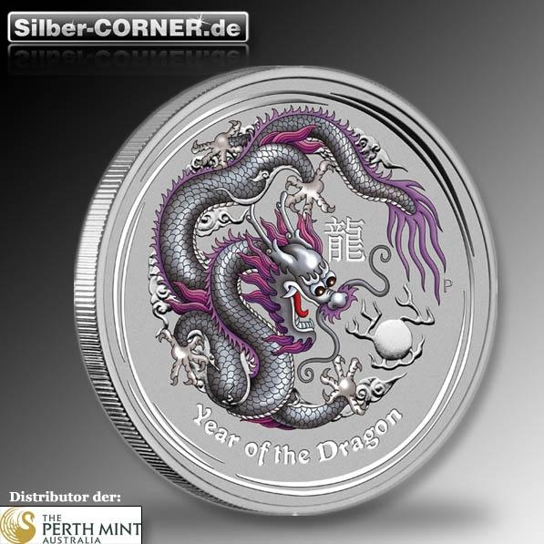 lunar drache silber silver