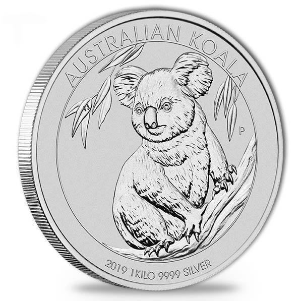 Australien Koala 1 KG Silber 2019*