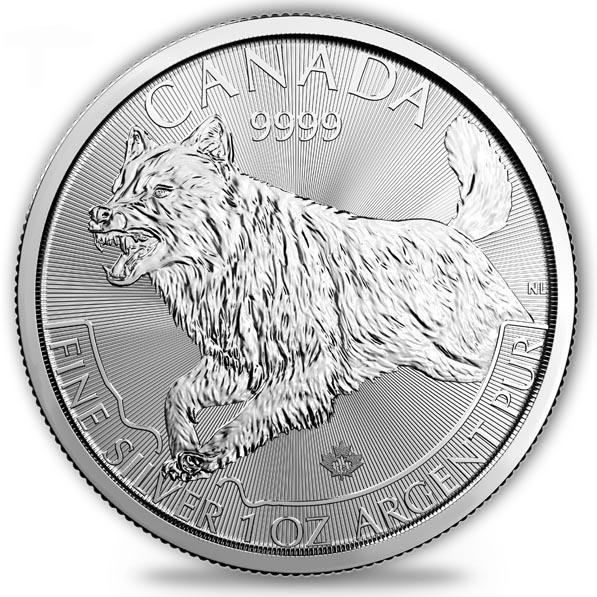 Kanada Predator - Wolf - 1 Oz Silber 2018 *